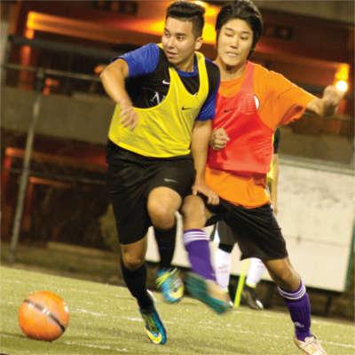 intramural soccer at UHM