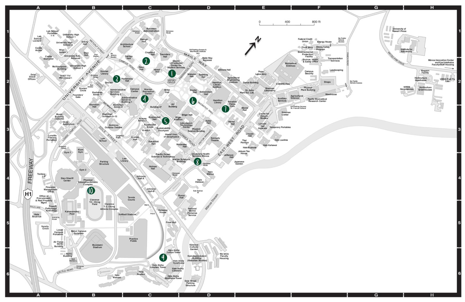 UHM Map